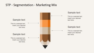 Effective Marketing Mix Segmentation With Pencil Bar Chart