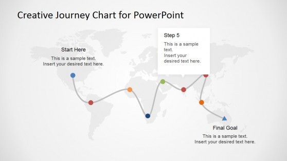 PowerPoint Template for Guides in Flight Status
