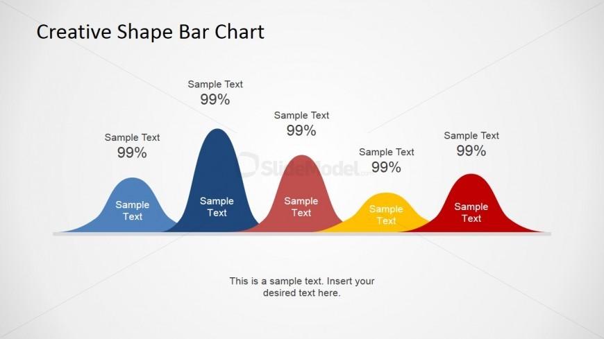 Chart Illustration for PowerPoint Slide