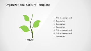 PowerPoint Cultivation Metaphor Icon PowerPoint Slide