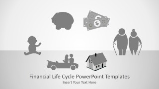 PowerPoint Template for Financial Life Cycle