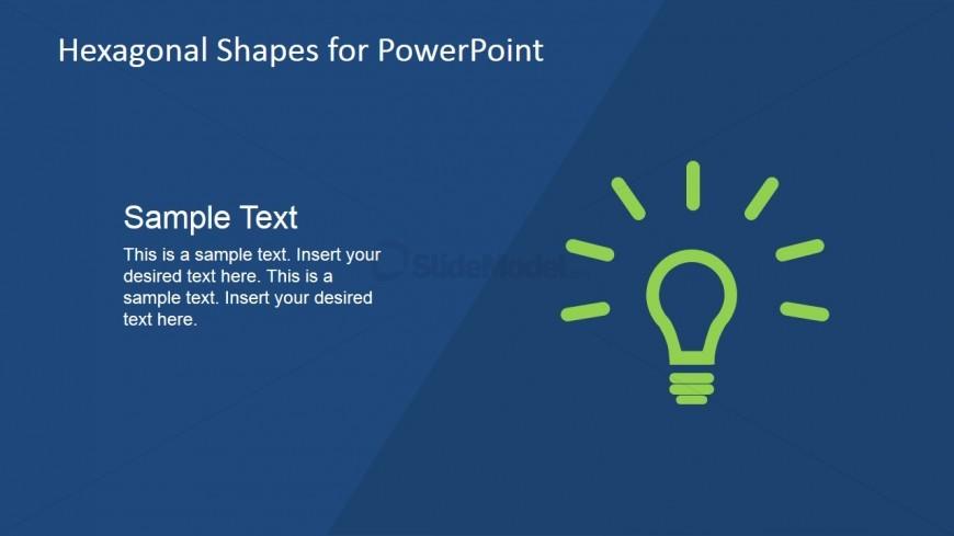 Light Bulb Shape for PowerPoint