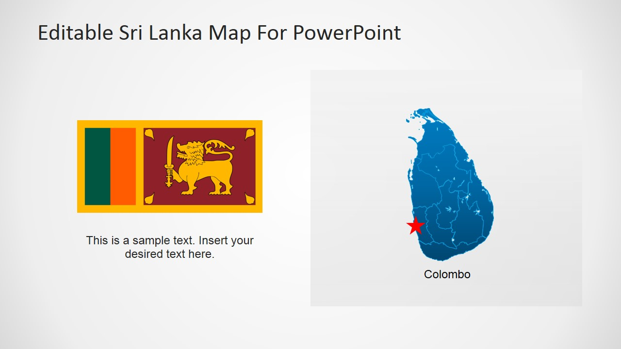 PowerPoint Presentation for Colombo, Sri Lanka