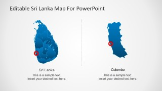 Food and People of Sri Lanka in PowerPoint Template