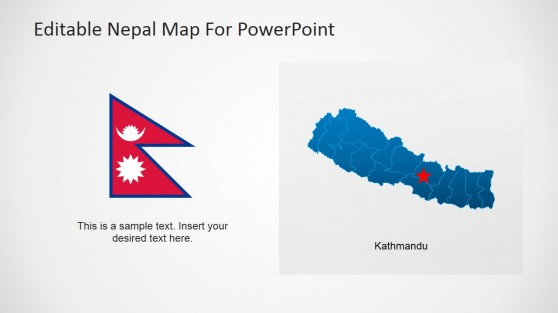 People of Nepal PowerPoint Slide