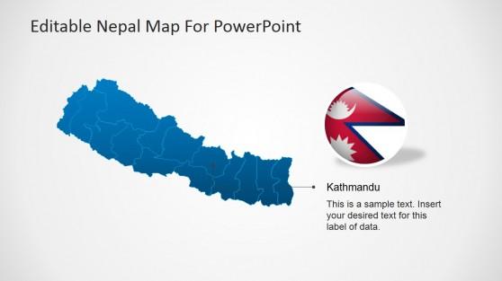 Kathmandu, Nepal Template Design