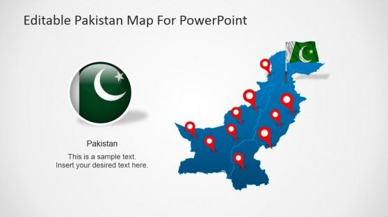 Iran powerpoint templates pakistan powerpoint map toneelgroepblik Gallery