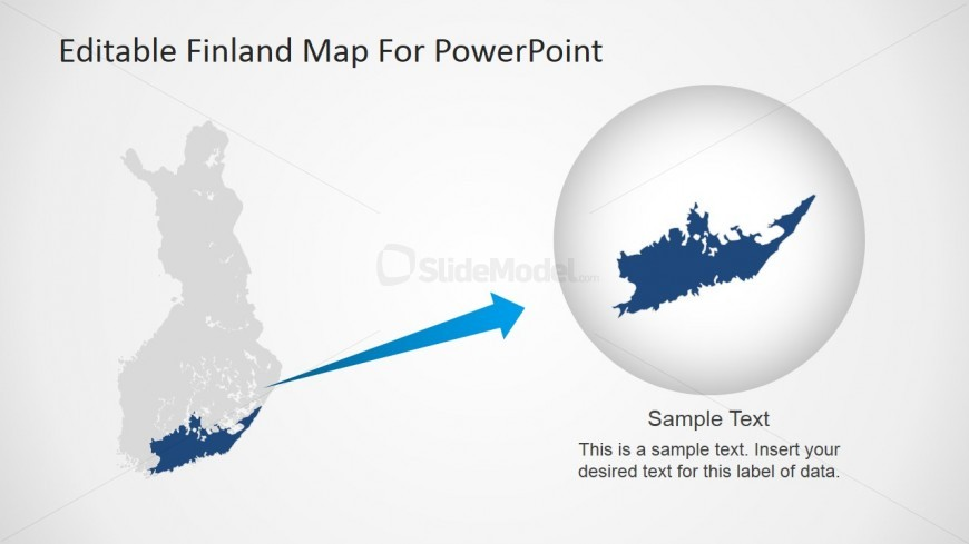 Finland Map Design for PowerPoint