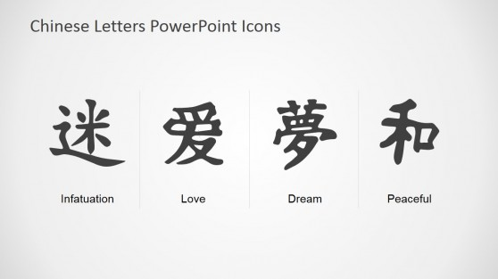 Chinese Alphabet PowerPoint Template