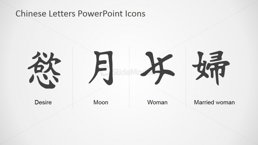 powerpoint presentation chinese character list