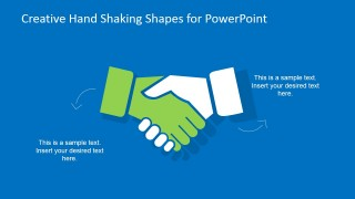 Handshaking Clipart Shapes for PowerPoint