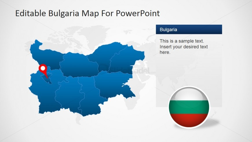 Capital of Bulgaria PowerPoint Template