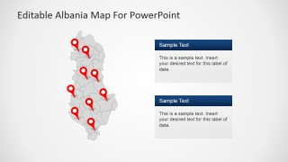 Albania Academic Lectures PowerPoint Slide