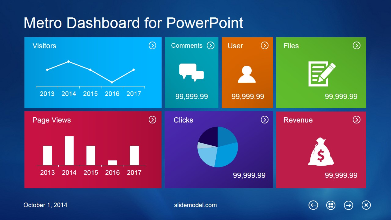Windows 8 powerpoint templates metro dashboard powerpoint template toneelgroepblik Choice Image