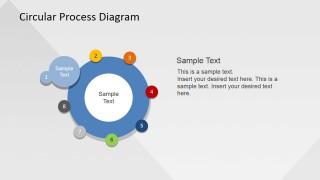 First Step Circular PowerPoint Presentation