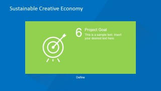PowerPoint Design for Project Goal Presentation