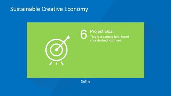 Project Goals Definitions Step PowerPoint Slide