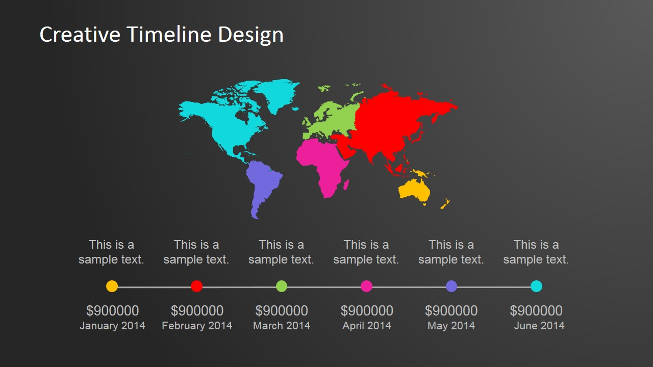 Creative powerpoint timeline template gumiabroncs Images