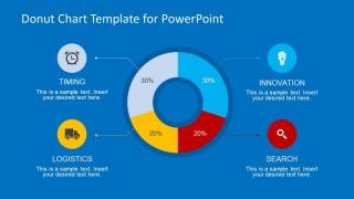 Donut Chart Slide Design for PowerPoint