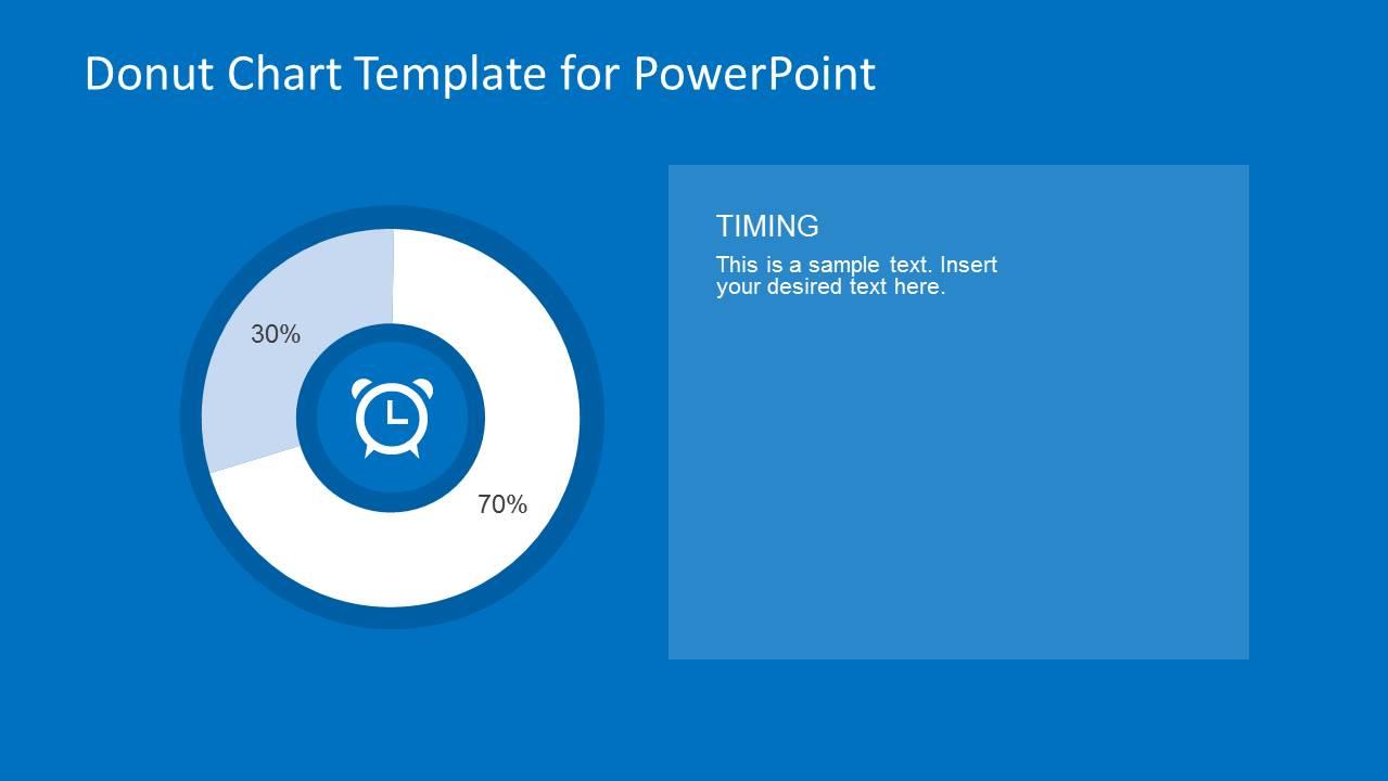30/70 Donut Chart Design for PowerPoint