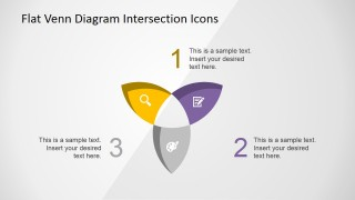 PowerPoint Sets Intersection Diagram