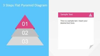 3 Steps Diagram Pyramid First Step Described