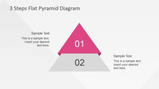 First Two Steps of Flat Pyramid