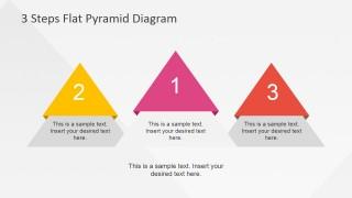 Flat Pyramid Diagrams in Podium Distribution