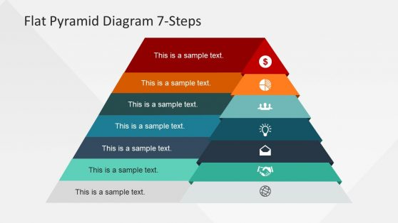 Creative Pyramid Diagram Design