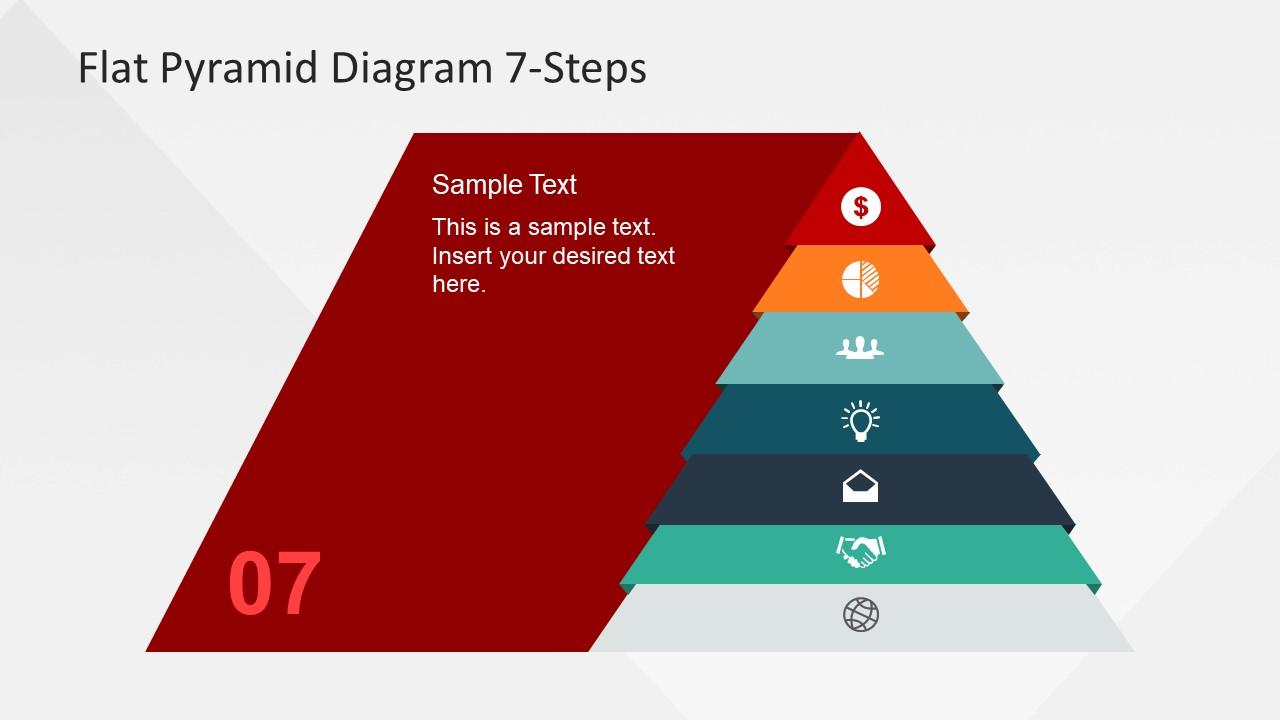Editable Diagram of Pyramid Chart