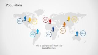 World Gender Demographics PowerPoint Template
