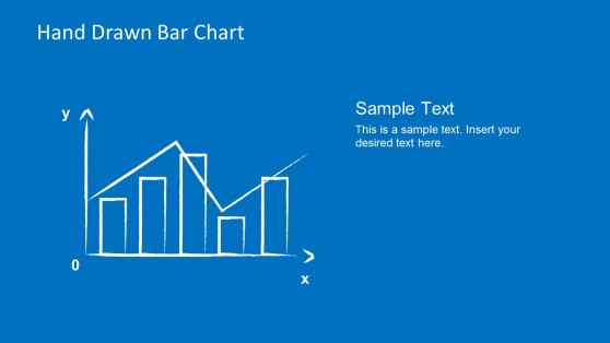 Simple Hand Drawn Bar Chart & Line Chart