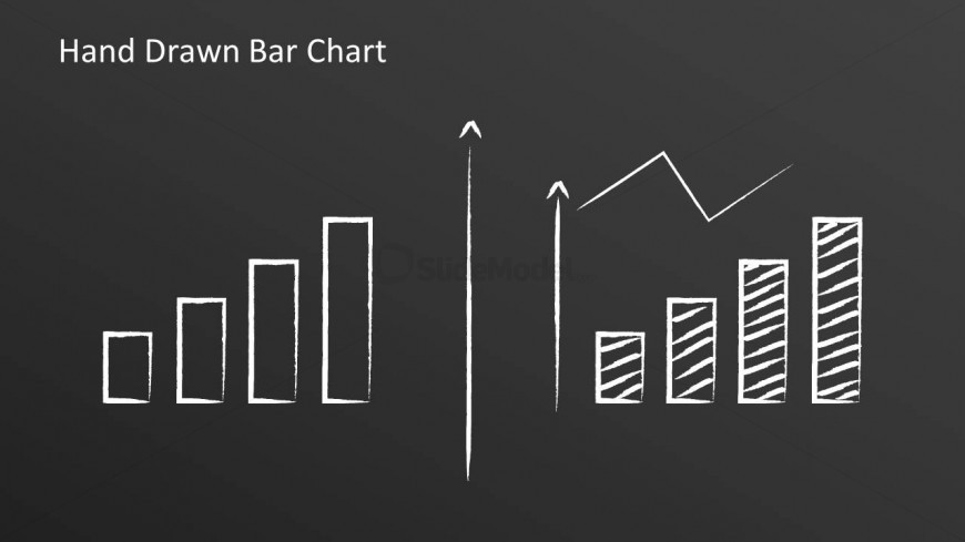 Two hand drawn bar charts line chart slidemodel two hand drawn bar charts line chart ccuart Gallery