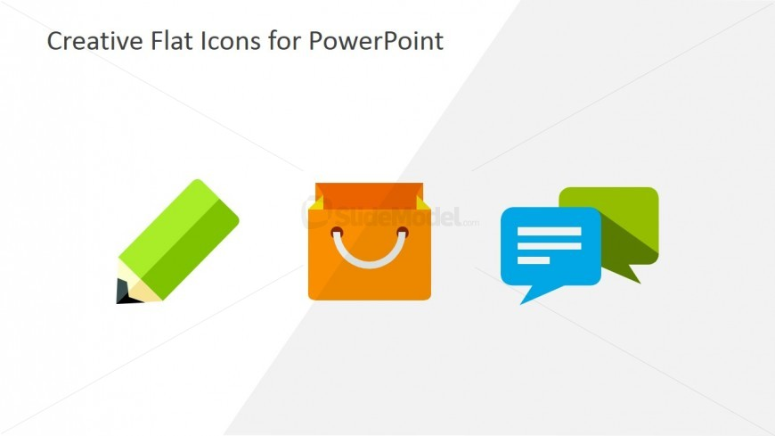 PowerPoint Flat Shapes for Business