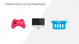 Gaming Business Icons for PowerPoint