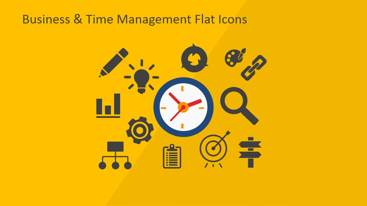 Modern Icons for Business Reports