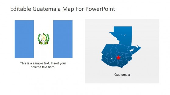 Guatemala National Flag PowerPoint Slide