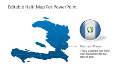 Haiti Maps Vectors for PowerPoint