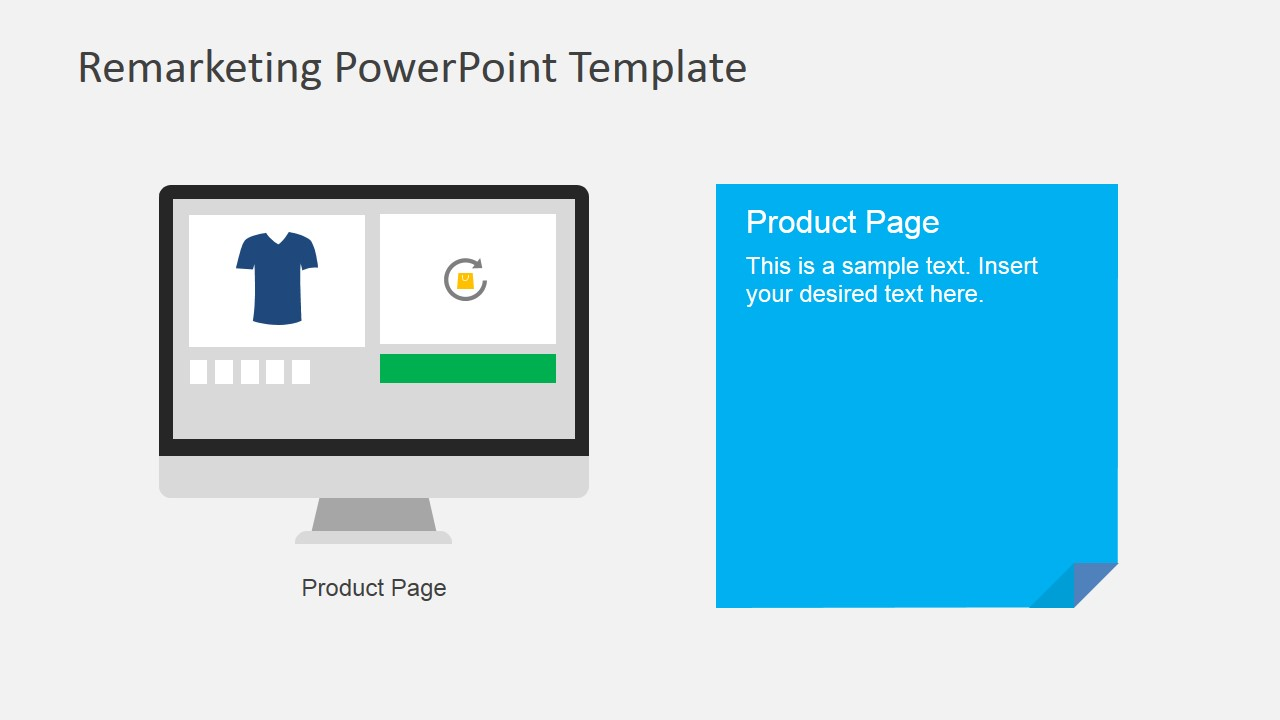 Online Marketing for Retail PowerPoint Slide