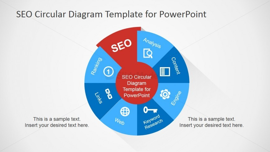SEO Diagram Design for PowerPoint