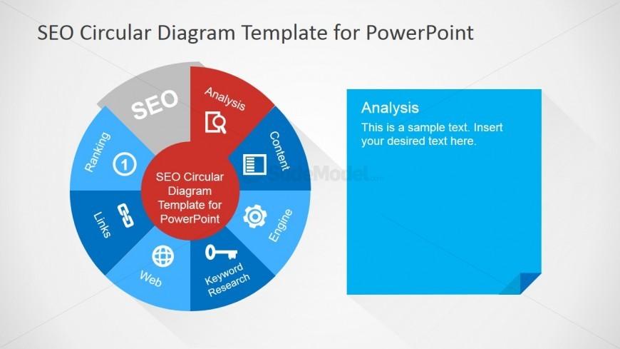 SEO Analysis Diagram Design for PowerPoint