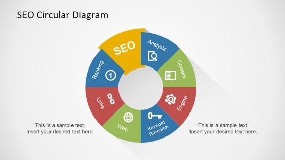 SEO Diagram for PowerPoint