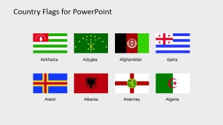Flag Icon PowerPoint Slide