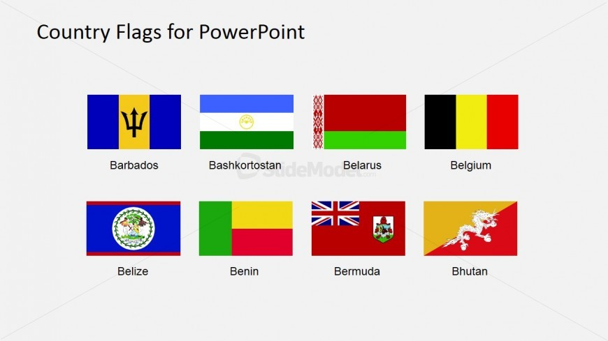 Clipart for Country Flag PowerPoint Template