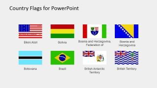 Flat Clipart PowerPoint Slide