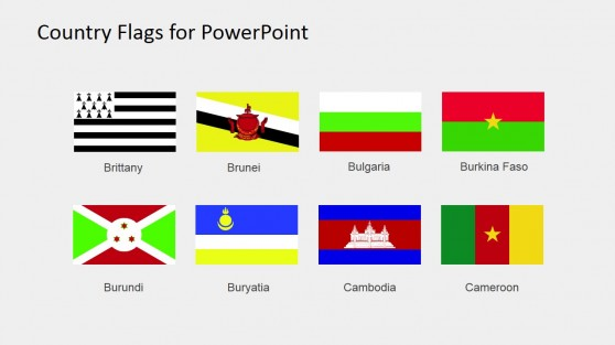 PowerPoint Flag Icons Clipart