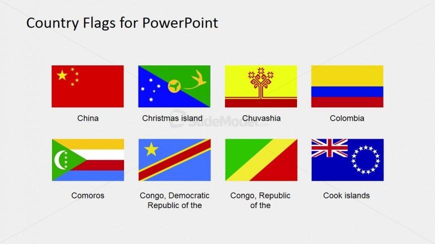 Territory Flags PowerPoint Slide