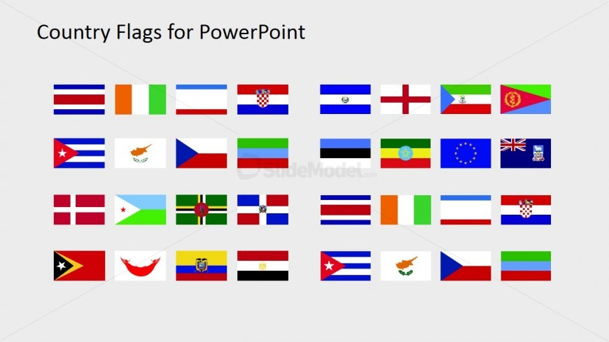 National Flag PowerPoint Slide