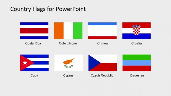 Flag Clipart Presentation Slide