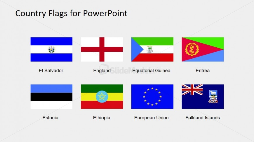 Colorful Flags Clipart